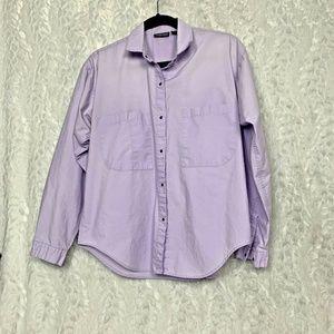 Patagonia Lavender Light Purple Size 12 Long Sleev